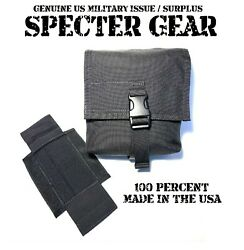 Specter Gear 427 Black Molle 200 Rnd Saw Utility Pouch Linked Ammo Us Military
