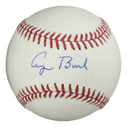 President George H W Bush Signed Autographed Baseball Clean Ball Psa/dna Ab12518