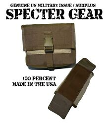 Specter Gear 427-1 Coyote Molle 200 Rd Saw Utility Pouch Linked Ammo Us Military