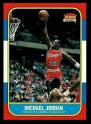 Michael Jordan 1986 Fleer Basketball Rookie Reprint Card Gem Mint ** READ ** $9.95