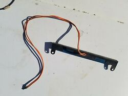1969 1970 Dodge Charger Plymouth Roadrunner Dash Heater Control Light Bar