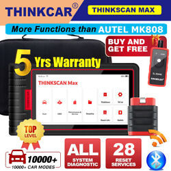 Thinkscan Max Obd2 Scanner Code Reader Auto Diagnostic Tool All System Immo Tpms