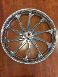 Misc Pm Launch Chrome 23 Wheel Tire Rotors Package 08-17 Touring Pm-lau-23dd