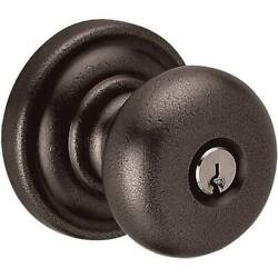 Baldwin 5205402entr Classic Entry Knob Disressed Oil Rubbed Bronze