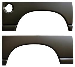 Rear Wheel Arch Quarter Bed Panels For Dodge Ram 02-08 1500 03-09 2500 Pair