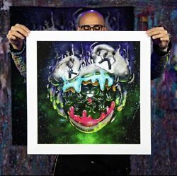 Deadmau5 X Garibaldi Le 100 Print Numbered And Signed By Both Confirmed Order