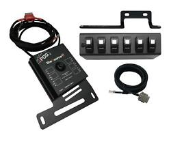 For Sourcelt W/ Red Led Switch Panel For Jk 2009-2018