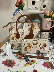 Disney Dooney And Bourke Winnie The Pooh Satchel And Wallet. Price Is Firm. Nwt
