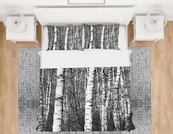 3d Tree Trunk Nao1029 Bed Pillowcases Quilt Duvet Cover Set Queen King Fay