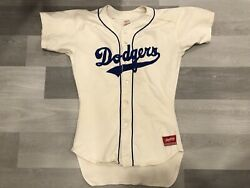 Authentic Rawlings Los Angeles Dodgers Mlb Baseball Jersey Sz 44
