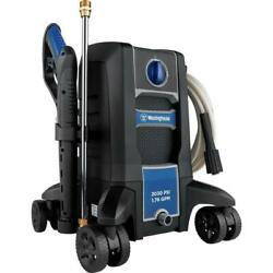 Electric Pressure Washer Cold Water Compact Lightweight Portable Clean 2030 Psi