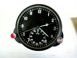 Clock For A Russian Military Airplane Mig