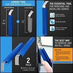 2 Pack Vinyl Siding Removal Tool For Installation And Repair Extra Long Non-slip