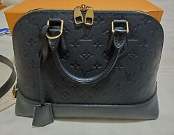 Louis Vuitton Neo Alma Pm In Empreinte Black - Like New Sold Out Item