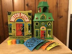 Witch Pitch Game Parker Brothers 1970 Vintage Monster