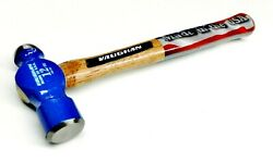 Ball Peen Hammer Metal Forming Pein Hammers 12oz Forged Steel Vaughan Made - Usa