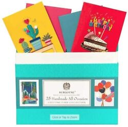 Burgoyne 25 Handmade All Occasion Greeting Card Collection