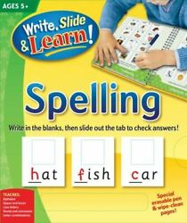 Write Slide And Learn Spelling Write Slide And Learn Edited