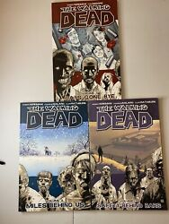 The Walking Dead Compendium One And Volume 1-3 Paperback Book Set