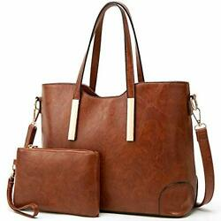Satchel Purses and Handbags for Women Shoulder Tote Bags Wallets 2 dark Brown $41.75
