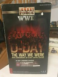 Action Figure Bbi Elite Force 1/6 Ww2 60th Anniversary Of Dday