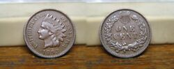 1893 Indian Head Penny Cent Us Coin