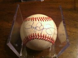 Roger Clemens Autograph Baseball With Date He Signed Ball