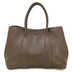 Hermes Garden Party Tpm Brown Swift Leather Land039air De Ginza 858016