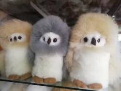 Lot Of 20 Alpaca Owls Toy Handmade Fur Stuffed 9 Free Shipping / We Have Store