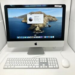 Apple Imac 21.5 Late 2013 Intel I5 16gb 128gb Ssd With Keyboard Mouse Combo