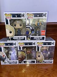 Destiny Funko Pop Lot, Incl'd 2018 Summer Convention Limited Edition Sweeper Bot