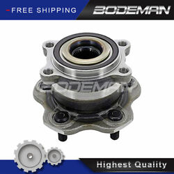 Rear Wheel Hub And Bearing For 2009 2010-2019 Nissan Gt-r Exc. Nismo 2006-2007 M45