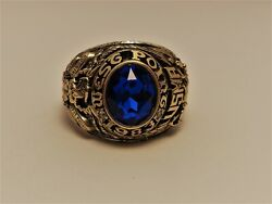 @ Solid 10k Gold Usma Ring Military Academy West Point Ring 1983 Size 12