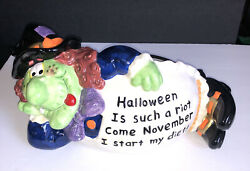 Halloween Witch Candy Dish