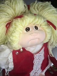 1980 Little People Cabbage Patch Doll Designed And Signed By Xavier Roberts.