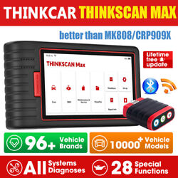 Thinkscan Max Obd2 All System Immo Tpms Scanner Code Reader Car Diagnostic Tool