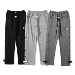 Fog Fear Of God Casual Buttoned Trousers Sports Plus Size Terry Pants Us