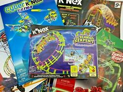 Knex Instruction Manuals K'nex Building Guides - Select Your Own - You Pick