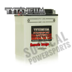 Tytaneum Conventional Battery With Acid Pack Kawasaki A7 Avenger 1967-1971