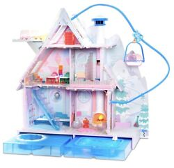 Lol Surprise Winter Disco Chalet Doll House And Lot Of L.o.l Dolls Local Pick-up
