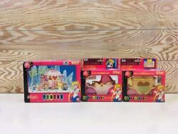 Bandai Sailor Moon Toy Carriage Of The Moon 3 Set Used From Japan F/s Fedex Rsmi