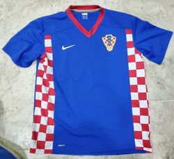 Very Nice 2008 Nike Fit Dry Croatia National Team Soccer Jersey Men's Size Large