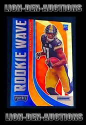 Chase Claypool 2020 Playoff Football Prizm Rookie Wave Gold Superfractor Rc 1/1
