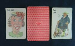 Beo Vintage Old Maid Card Game By Whitman Incomplete, Has 41 Cards