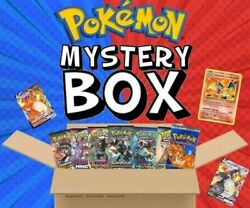 500 Pokemon Card Mystery Box With Random Booster Packs And More
