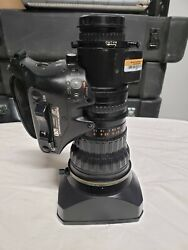 Fujinon Hs18x5.5berm 1/2 Professional Eng 18x Zoom Lens W 2x For Sony Cameras
