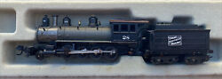 N Scale 2-8-0 Dcc Equipped Wild West Steam Engine Custom Gn Great Northern