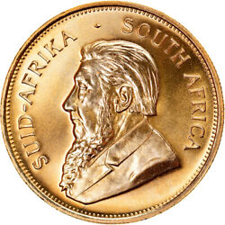 [895723] Coin South Africa Krugerrand 1982 Gold Km73