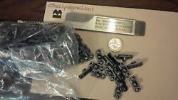 Nutplates With Eyelets Ms21075-l3e 3/16 Unf Thread 10-32 100 Lot
