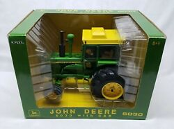 John Deere Model 6030 Tractor With Cab 2004 Plow City 1/16 Scale By Ertl